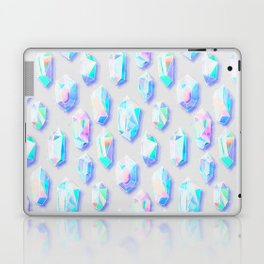 Iridescent Rainbow Crystals Laptop & iPad Skin