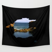melbourne Wall Tapestries featuring The Grotto by Chris' Landscape Images & Designs