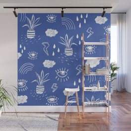 Icons Wall Mural