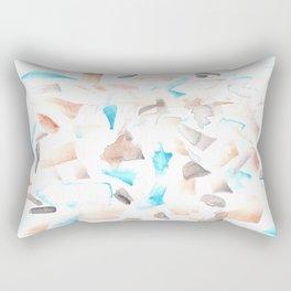 180515 Abstract Wp 3  Watercolor Brush Strokes Rectangular Pillow