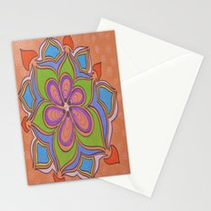 Drops and Petals 4 Stationery Cards
