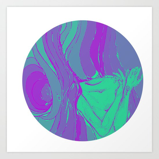 arsenicofago logo Art Print