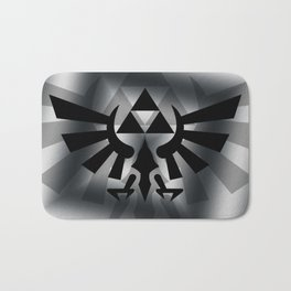 The Legend Of Zelda Logo Bath Mat