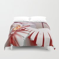 wings Duvet Covers featuring Wings by Tee-chew