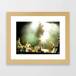 Four U2 Framed Art Print