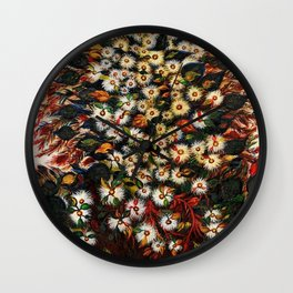 'Les Grandes Marguerites' - Flowers by Seraphine Louis Wall Clock