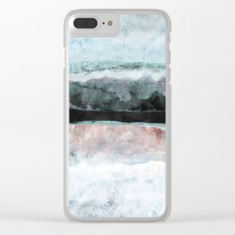 Watercolors 24X Clear iPhone Case