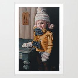 Contemporary, Acrylic Painting, Portrait, Figure Study, Art Print