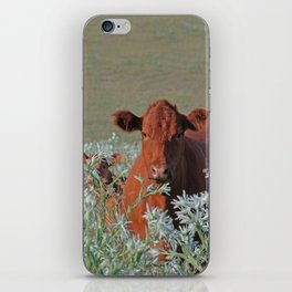 Cow Hide iPhone Skin