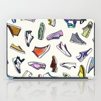 sneakers iPad Cases featuring sneakers addiction by Federico Faggion