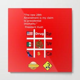 28th Amendment Metal Print