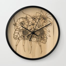 Sand Flea Wall Clock