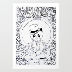 Pandi-Panda Art Print