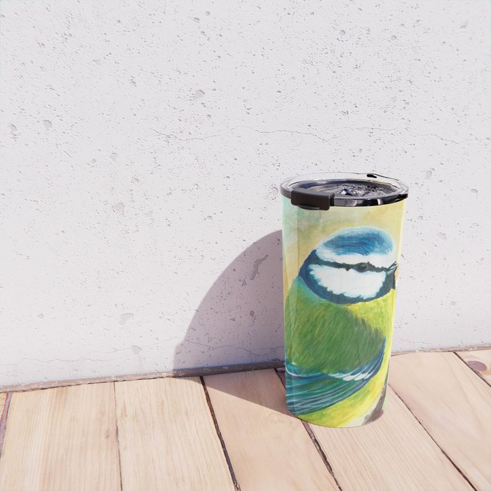Blaumeise | Bluebird Travel Mug