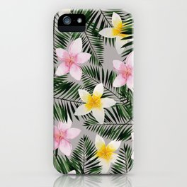 Leave Me Aloha in Grey iPhone Case