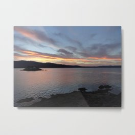When the Day is Done Metal Print