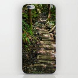 the trail iPhone Skin
