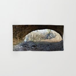 Alone in Secret Hollow with the Caves, Cascades, and Critters, No. 12 of 21 Hand & Bath Towel