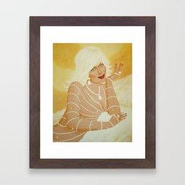 Heavenly Evans Framed Art Print