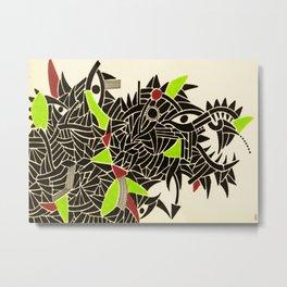- dynamic rats - Metal Print
