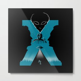 letter x Metal Print
