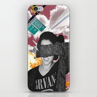 nirvana iPhone & iPod Skins featuring Personal Nirvana by LittleCarmine