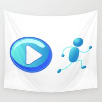 play Wall Tapestries featuring Play by Cs025
