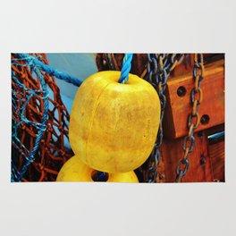 Yellow Buoys Rug