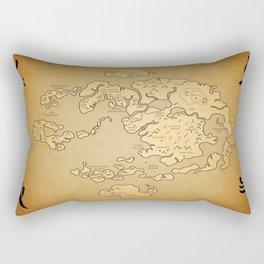 Avatar Last Airbender Map Rectangular Pillow
