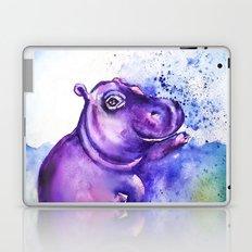 Fiona the Hippo - Splashing around Laptop & iPad Skin
