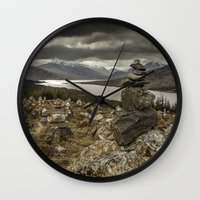 scotland Wall Clocks featuring Scotland by Miguel Cardoso