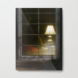 Waiting At The Window Metal Print