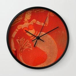 Hip Mermaid Wall Clock