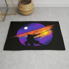 Sunset Samurai Rug