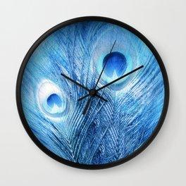 Peacock Blue Wall Clock