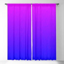 Pink Purple Blue Ombre Flames Blackout Curtain