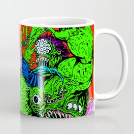 MONSTER FIGHT Coffee Mug