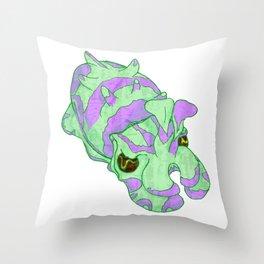 Flamboyant Cuttlefish VII Throw Pillow