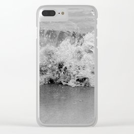 Tiny Splash Clear iPhone Case
