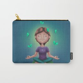 Meditation Girl Carry-All Pouch