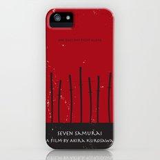 Seven Samurai iPhone (5, 5s) Slim Case