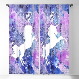 Unicorn Blackout Curtain