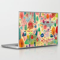 chaos Laptop & iPad Skins featuring CHAOS!!! by Risahhh