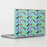 socks Laptop & iPad Skins featuring Avenging Socks by Kelslk