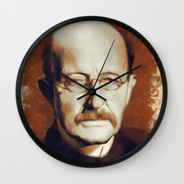 Max Planck, Scientist Wall Clock
