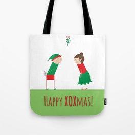 Happy XOXmas Tote Bag