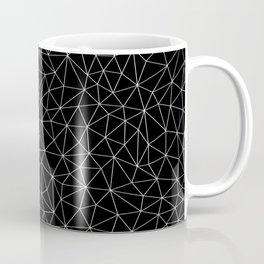 Low Pol Mesh (negative) Coffee Mug