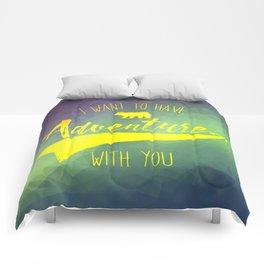 Adventure quote 1.2 Comforters