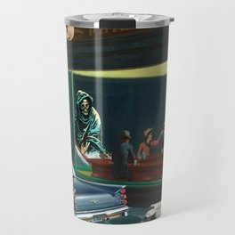 A Night Out On The River Styx Travel Mug