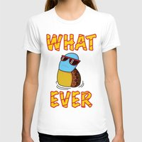 puppycat T-shirts featuring Whatever by ohzemesmo